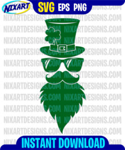 Leprechaun svg and png files for cutting and print