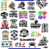 Gamer svg bundle for cricut. Svg and png files for cutting and print